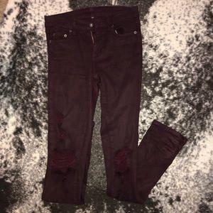 Carmar Ripped Knee Skinny Jeans